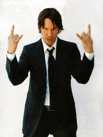 Keanu Reeves by skullgirl24