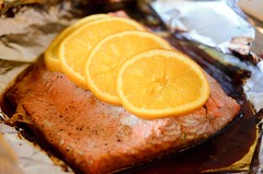 Salmon-June 13, 2011 (Bao Ngo) Tags: salmon glaze 365 teriyaki copperriver d7000