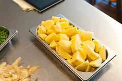 Geschilde patatten