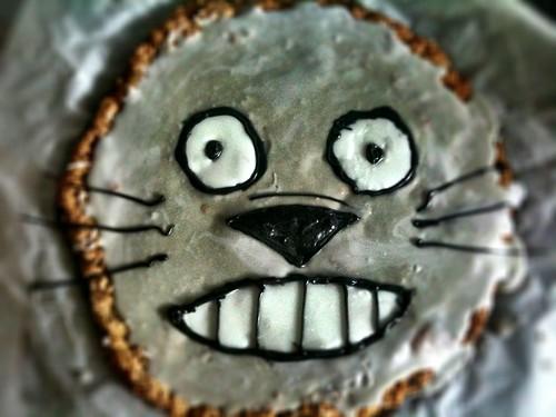 Giant Totoro Cookie