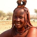 sweet Himba girl     Namibia