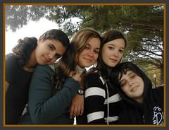Danielle, Jessica, Soroya, and...Jorge(?)