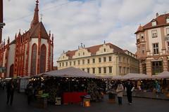 Marienkapelle auf dem Wrzburger Marktplatz (mbell1975) Tags: church germany bayern deutschland bavaria kirche chapel franconia german dem auf wrzbu