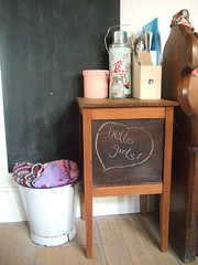 You Can Never Have Too Many (Vintage Pleasure) Tags: kitchen vintage chalkboard blackboard thrifted