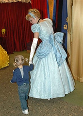 Disney Cinderella with a small child