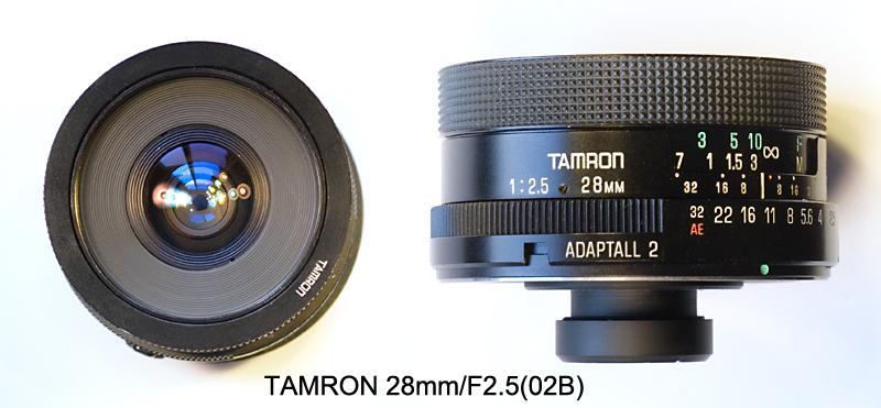 老鏡頭 TAMRON 28mm f/2.5,試拍