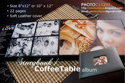 Promo Coffee Table Album