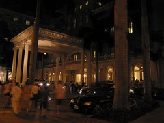 Evening at the Moana Surfrider