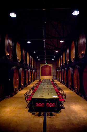 Barrel room at Merryvale by star5112