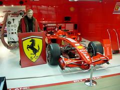 Logo Ferrari con Auto Raikkonen F1 Campione del Mondo (vittoriasalati) Tags: logo quadro f1 ferrari scuderia raikkonen legno tavola vittoria dipinto salati inciso