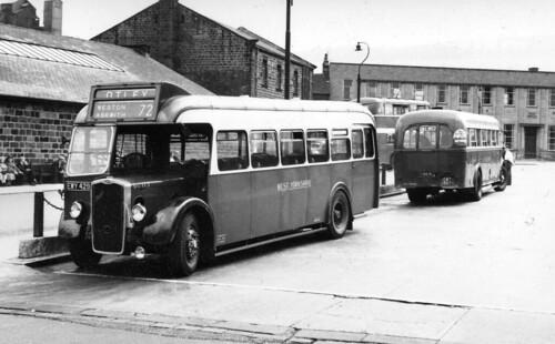 Legards buses in Otley