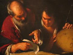 Erathostenes lehrt in Alexandria