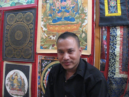 Thangka Salesman