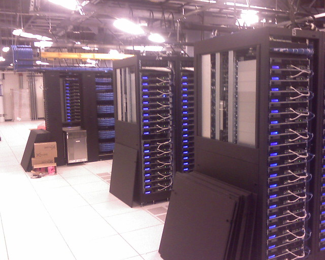 Facebook Data Centre Servers