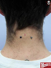 npq0-healed-nape (Dimm-almosfare) Tags: haircut man male men hair neck masculine guys piercing bodyart buzzed nape vshaped