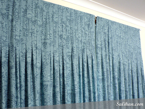 Pleated Curtains (Close-up)