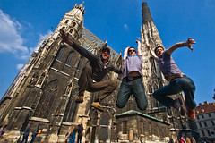 Vienni, vidi, jumpi (ole) Tags: vienna wien austria jump jumping europe dom lol wideangle stephan jumpers vienne bek jrmie zoltan ostereich ole europeanjumpproject jrmole sautisme megjegyezheto