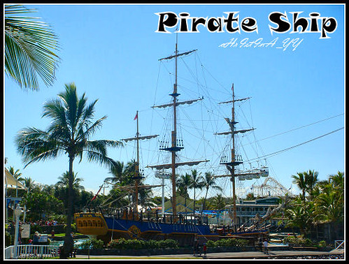 Seaworld: Pirate Ship