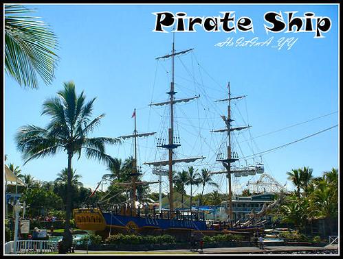 Seaworld: Pirate Ship