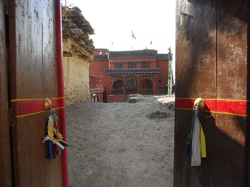 Buddhist temple in Jharkot