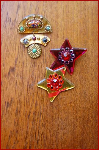 80s acrylic pins