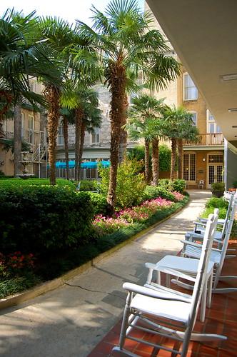 Menger courtyard