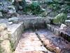 La fontaine sur la route du col de Bacinu (en contrebas du départ du sentier de la crête de Compolelli)
