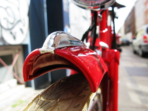 Velorbis Red Fender