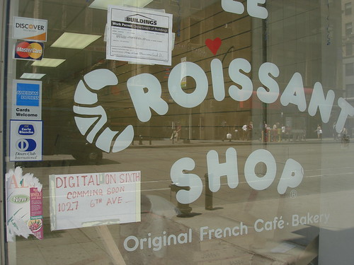 Formerly Croissant Shop