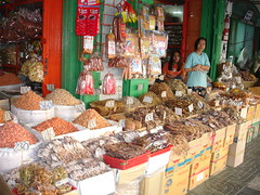 Food market at bangkok