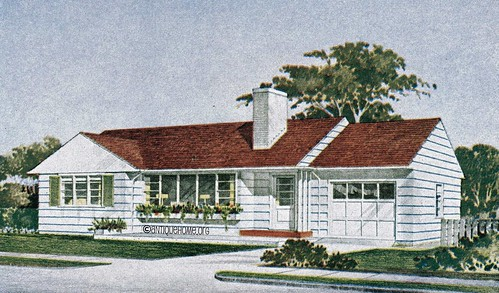 The Kenilworth  1950s Ranch Style Home  Mid Century Modern   a