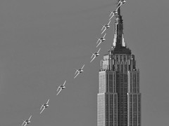cliche fly-by shot 2 (frank maiello) Tags: nyc red newyork plane fly nikon jerseycity hawk aircraft tag jet sigma formation empirestatebuilding trainer teleconverter redarrows raf ellisisland libertystatepark 2x d300 royalairforce baesystems maiello 300f28 frankmaiello