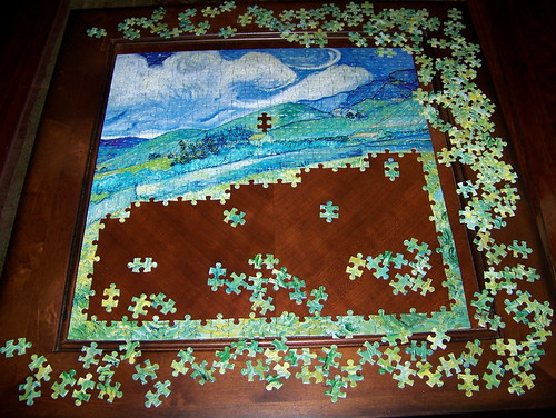 Making progress on the puzzle