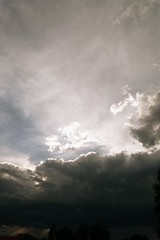 P1010710 (frederik_rowing) Tags: blue light sky berlin clouds germany dark deutschland licht cloudy dar himmel wolke wolken wolkig bewlkt dster schimmert