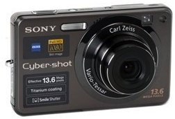 Sony Cybershot DSC-W300 13.6MP Digital Camera with 3x Optical Zoom with Super Steady Shot
