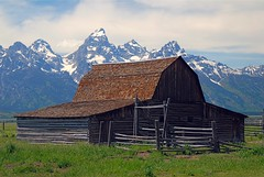 Moulton Barn, Mormon Row - Grand Teton National Park (SeattleJack) Tags: barn nationalpark abandon wyoming grandteton mormonrow specland moultonbarn jackmaynard seattlejack