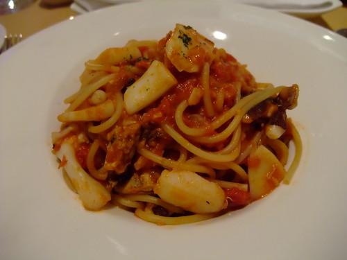 Bruner Cafe - 茄汁海鮮義大利麵