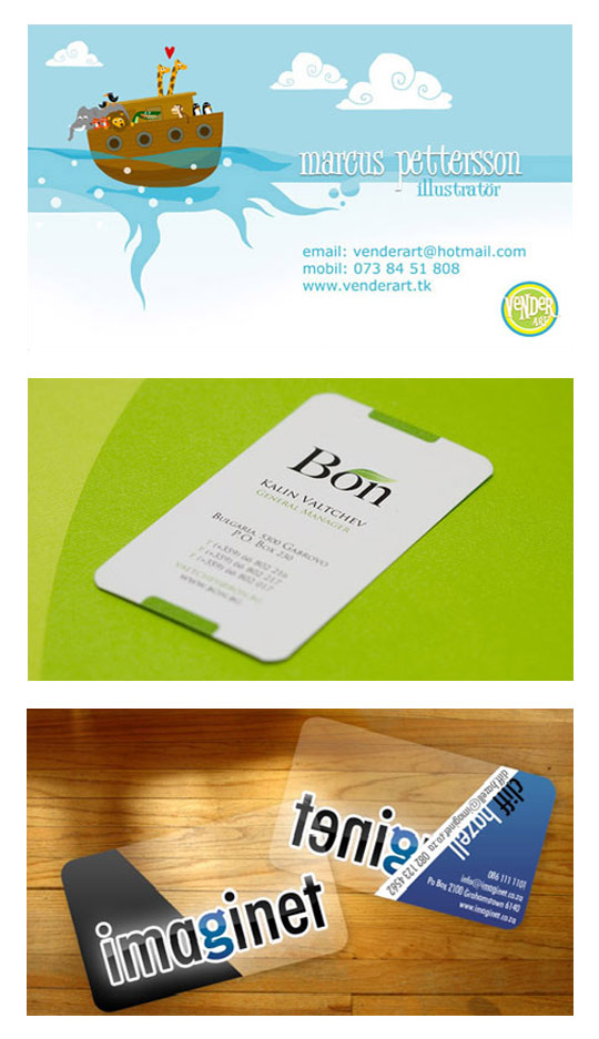 36 Cool Business Cards