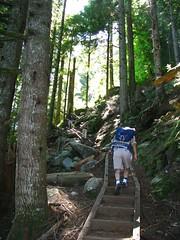 Stairs on Lake Serene Trail