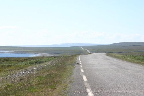 Carretera de la tundra
