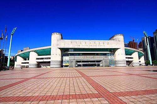 fm4715/魯獅 拍攝的 9J41台北縣板橋體育場-板橋第一運動場。