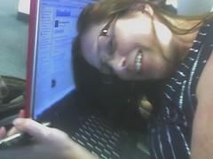 erin feeling the computer love