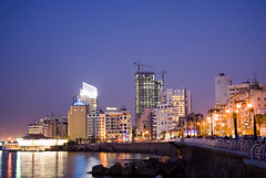 This is Beirut.... Ain el mraisi (A. Saleh) Tags: lebanon night buildings lights beirut longshutter saleh asaad supershot kornish wwwasaadsalehcom ainelmraisi aublowergate
