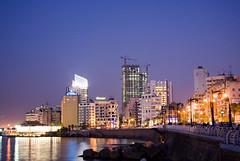 This is Beirut.... Ain el mraisi (A. Saleh) Tags: lebanon night buildings lights beirut longshutter saleh asaad supershot kornish wwwasaadsalehcom ainelmraisi aublowergate
