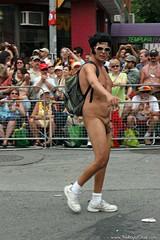 Pride 2008 (113) (Royal Olive) Tags: street gay toronto ontario canada hot lesbian naked penis rainbow flag elvis pride parade backpack etc bisexual yonge transexual presley queer such 2007