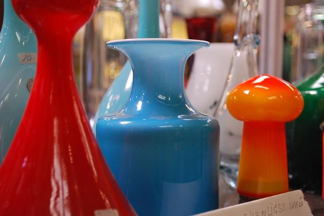 danish modern glassware