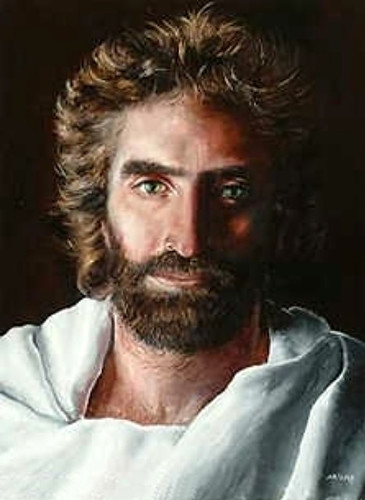 Akiane Kramarik painting Prince of Peace at age 8 by Debbie(Woodlands Texas)