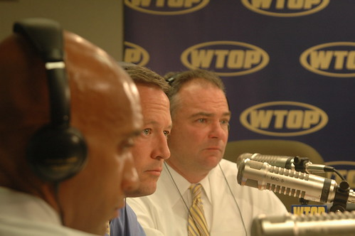 Governor Kaine, Governor O'Malley and Mayor Fenty