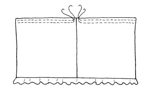 Lining detail