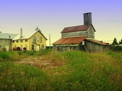 Burnt Island Ghost Town (timberwolf1212) Tags: ontario canada abandoned village ghosttown manitoulinisland lakehuron forlorn northernontario fishery burntisland